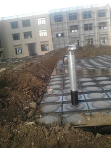 Material Selection of Mingxing Intelligent Tank-pump Integration Pump Station