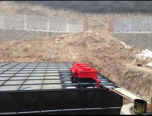 Material Selection of Mingxing Anti-floating Buried Water Tank