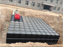 Workmanship of Mingxing Buried Tank-pump Integration Pump Station