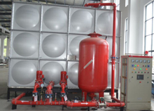 Design Principle of Mingxing Fire Control Pressure Booster And Pressure Stabilization Equipment